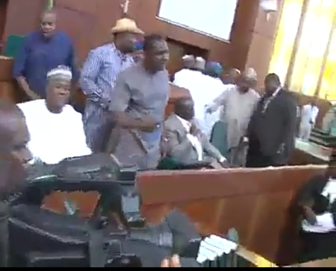 Watch A show of shame as Law makers fight dirty at the chambers (Video)