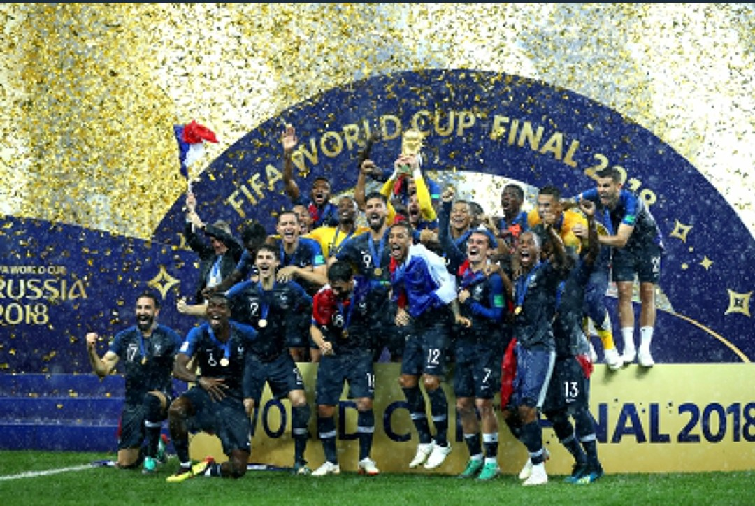 France Defeat Croatia To win the FIFA World Cup in Russia (Pictures)
