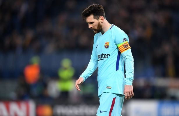 Messi Miss out on top 4 shortlist of UEFA player of the year