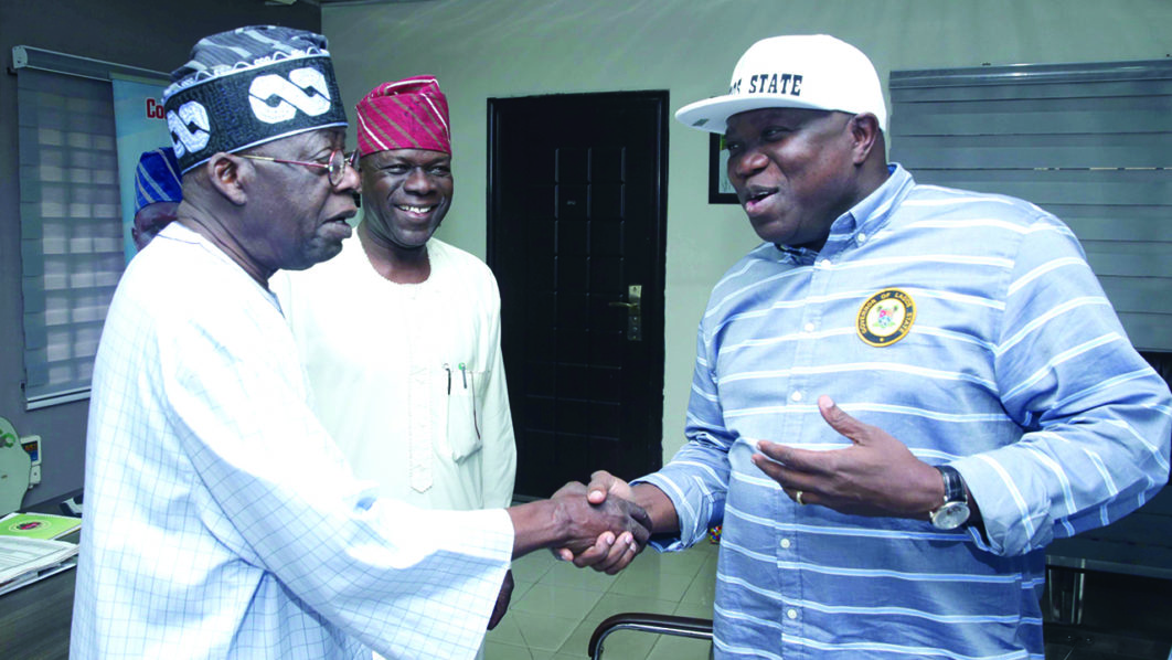 Tinubu Chooses A Replacement for Ambode, Full story of their Rift Revealed