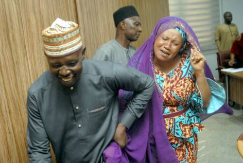 The Alleged Aisha Buhari's imposter Reveals Those Behind The Fraud (video)