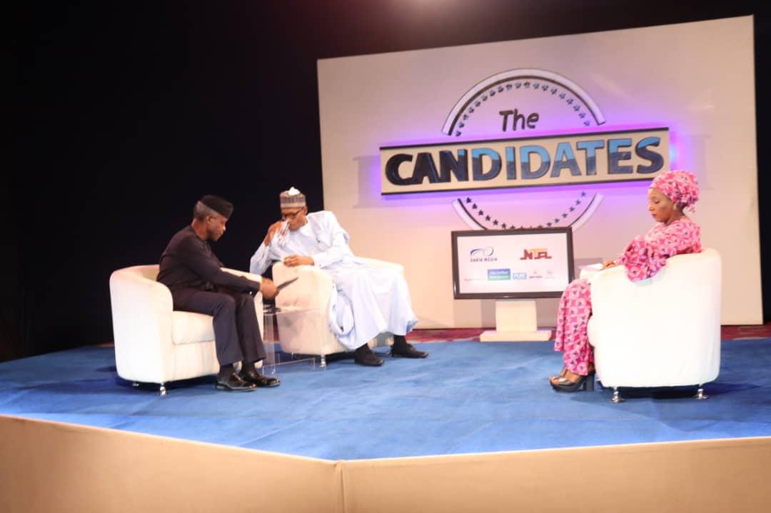 Buhari and Osinbajo interactive session On NTA