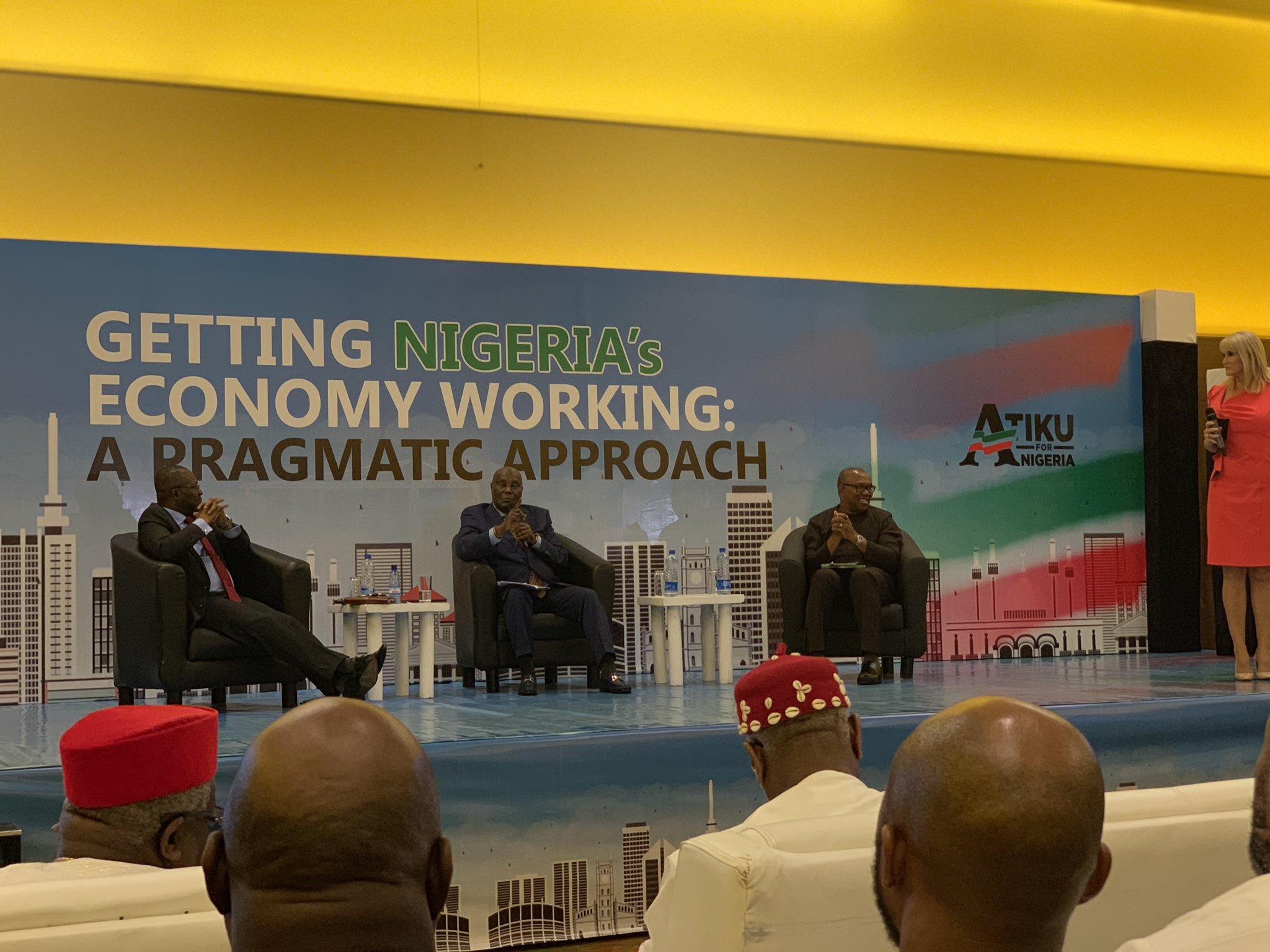 Keynotes from Atiku Abubakar's Economic Town hall meeting