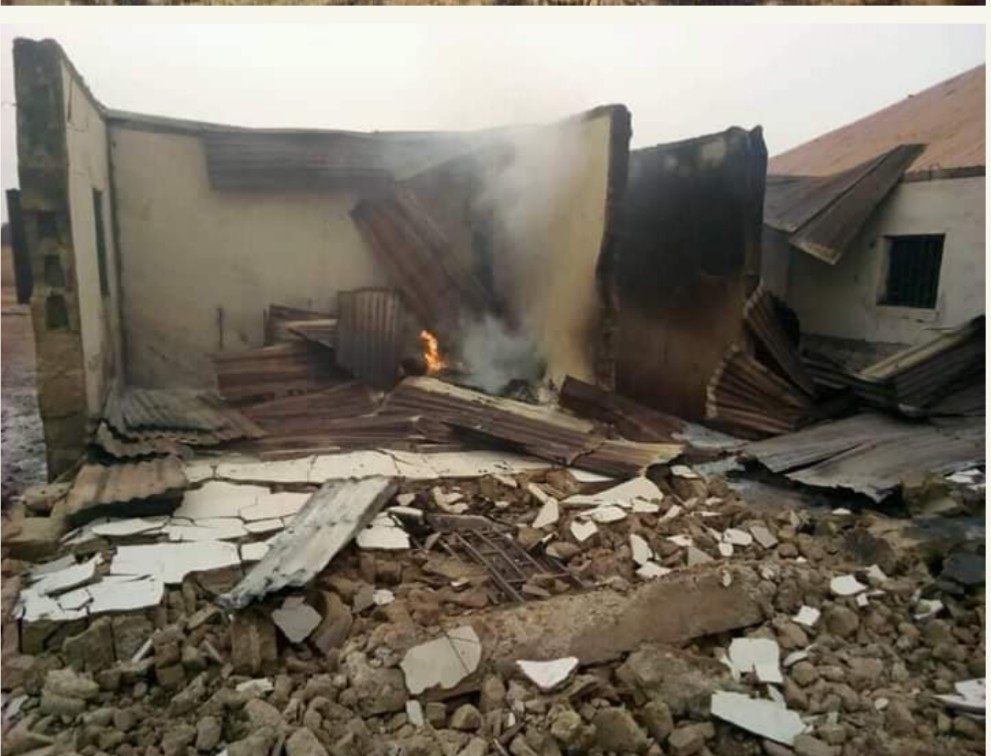 Fulani Herdsmen Allegedly Burn Church And Kill Worshippers In Kajuru, Kaduna (Graphic)
