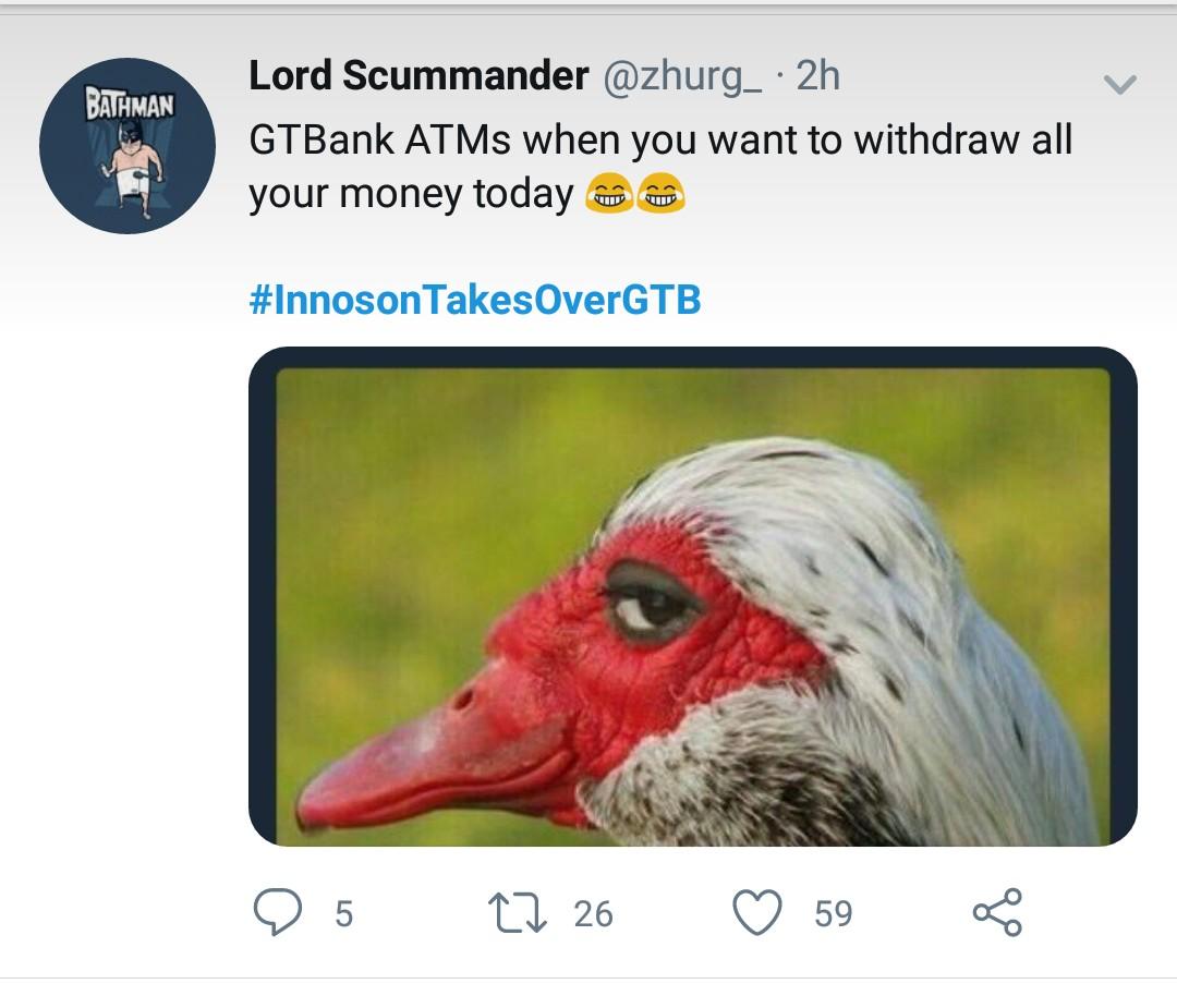 Nigerians React over the Innoson Vs Gtbank saga in a hilarious way