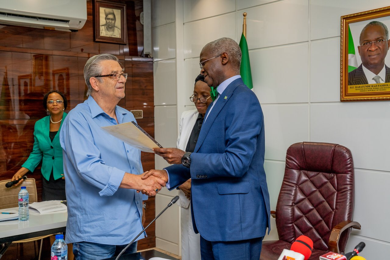 Nigeria redeems promise to Westerhof after 25years(pictures)