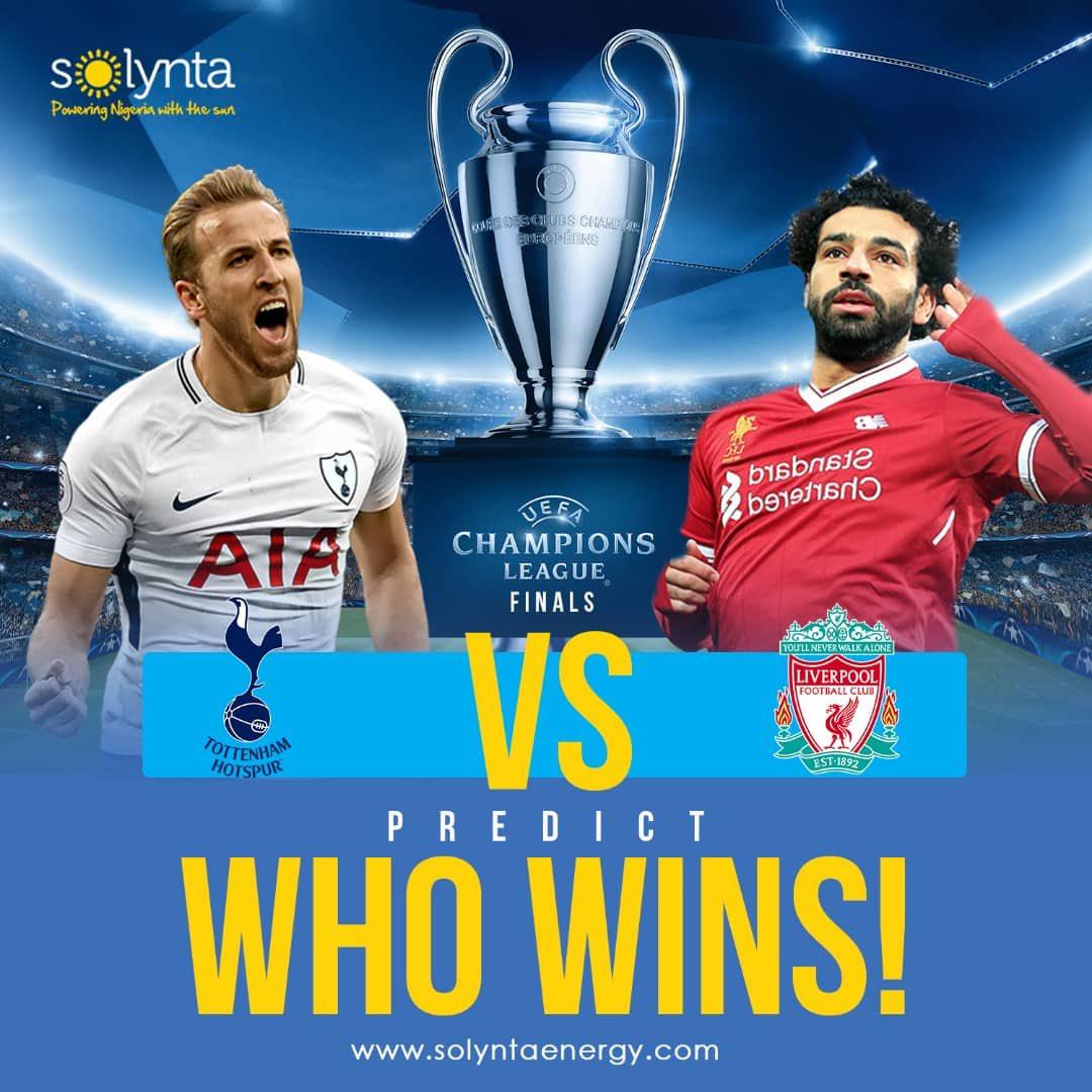 Liverpool VS Tottenham, Predict The Correct Scoreline