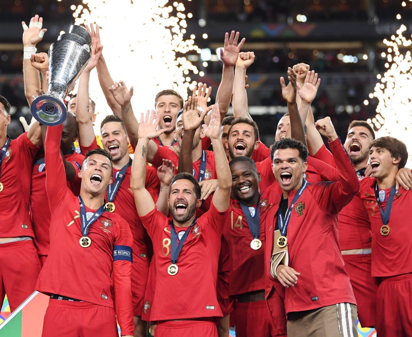 Portugal Wins UEFA Nations League After beating Netherlands
