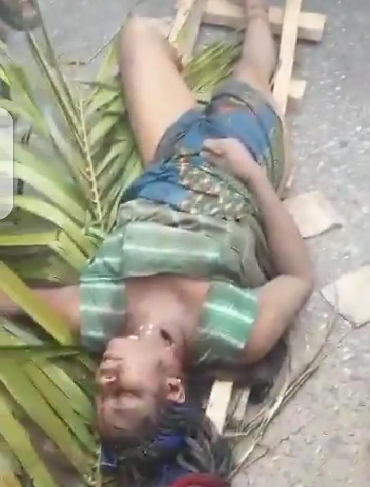 Tragedy As Alleged Fulani herdsmen kill a lady in Edo (video)