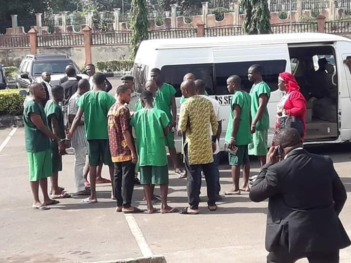 Outrage as Nigerians seek Justice for the six Madonna students and Lecturer in prison