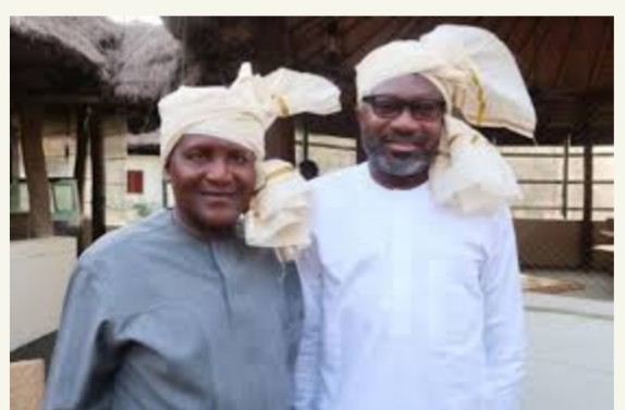 Aliko Dangote and Otedola to Splash wads of cash on Eagles