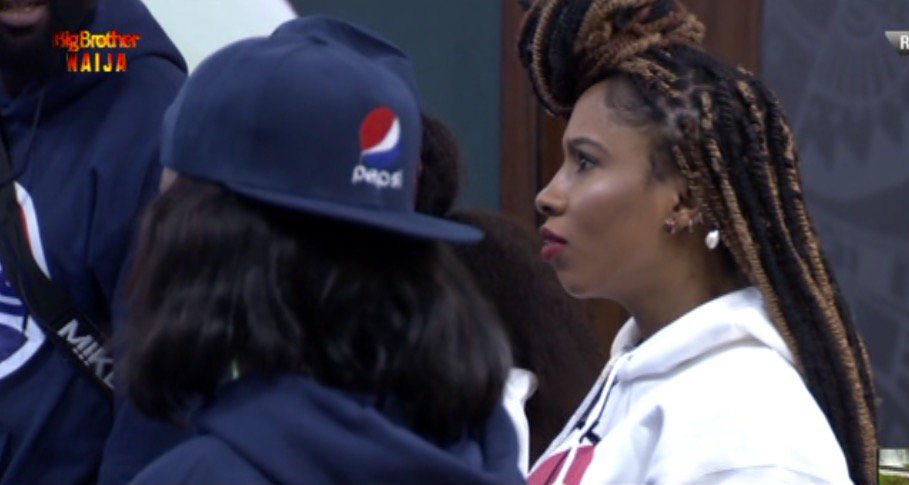 BBNaija2019 :  Mercy, Khafi and Sir Dee all disqualified from the Pepsi challenge (video)