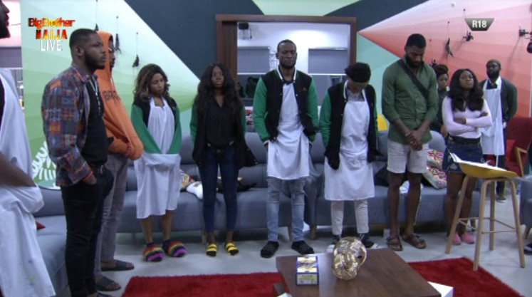 #BBNaija2019 : Housemates up for possible eviction on Sunday