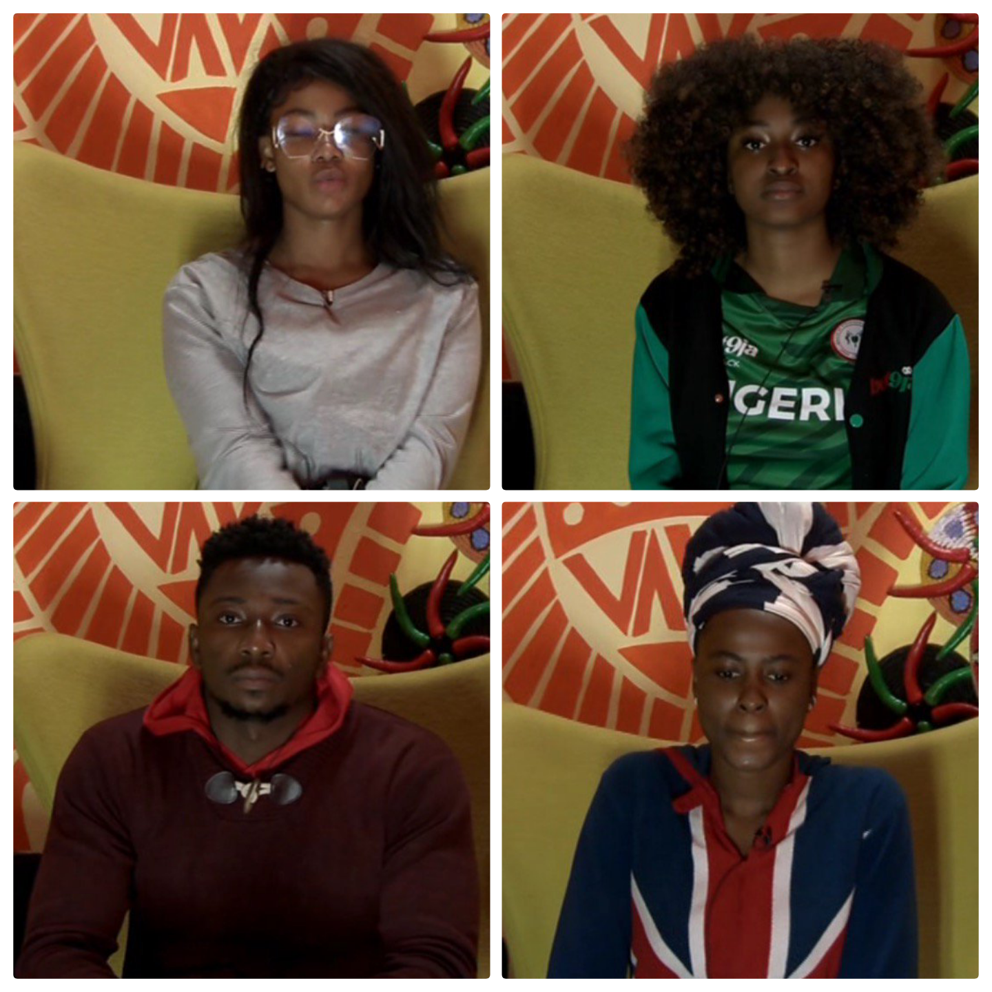 BBNaija2019 :  See the Housemates Up for possible eviction
