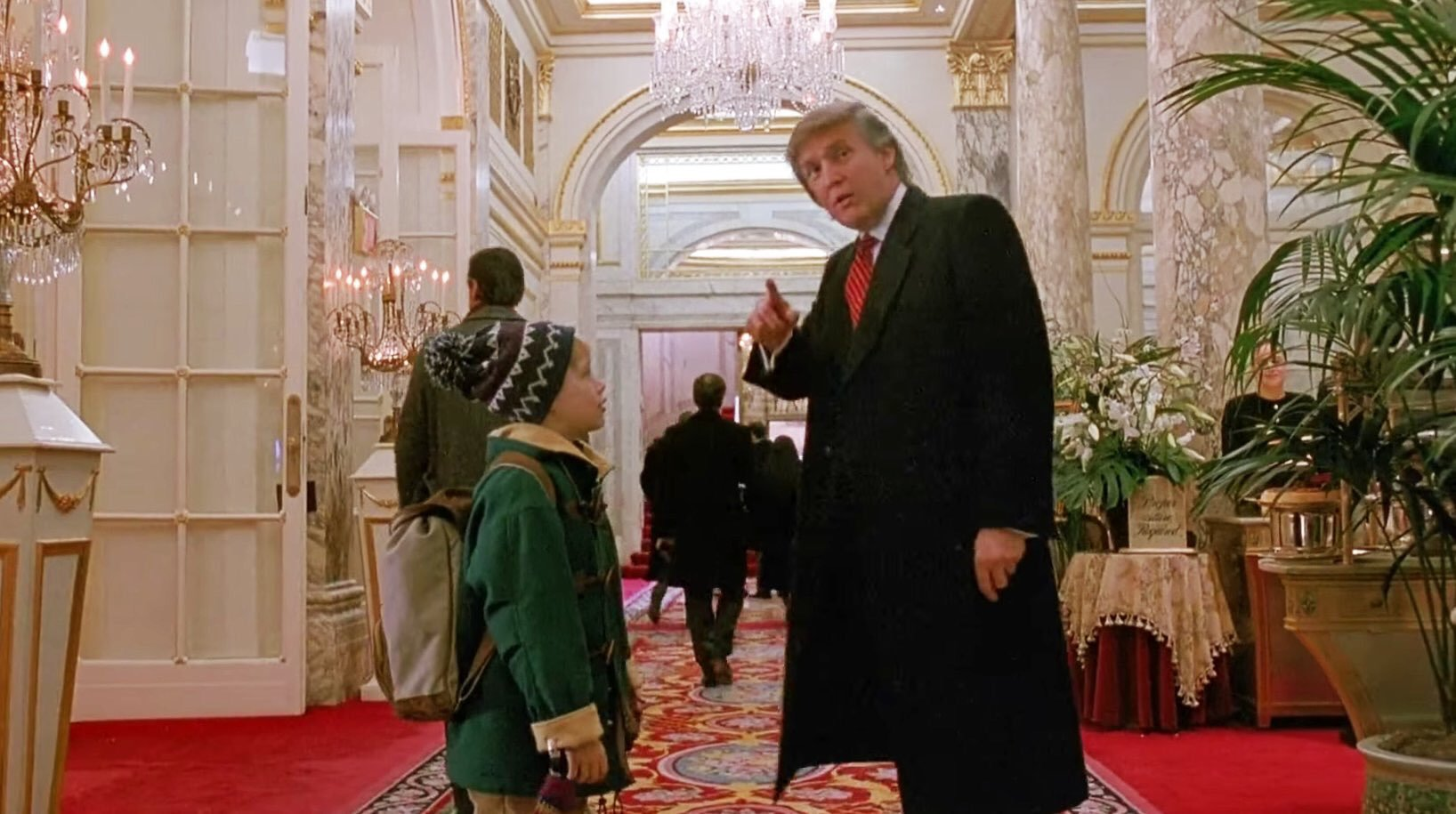 "Did you know Donald Trump made a Cameo in ""The fresh Prince of Bell Air"" and ""Home Alone""? (video)"