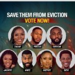 BBnaija :  See the Housemates most likely to be evicted on Sunday based on online poll