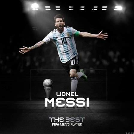 Lionel Messi Named Best FIFA Men's Player