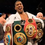 Anthony Joshua Defeats Andy Ruiz Jr. To Regain Title (pictures)