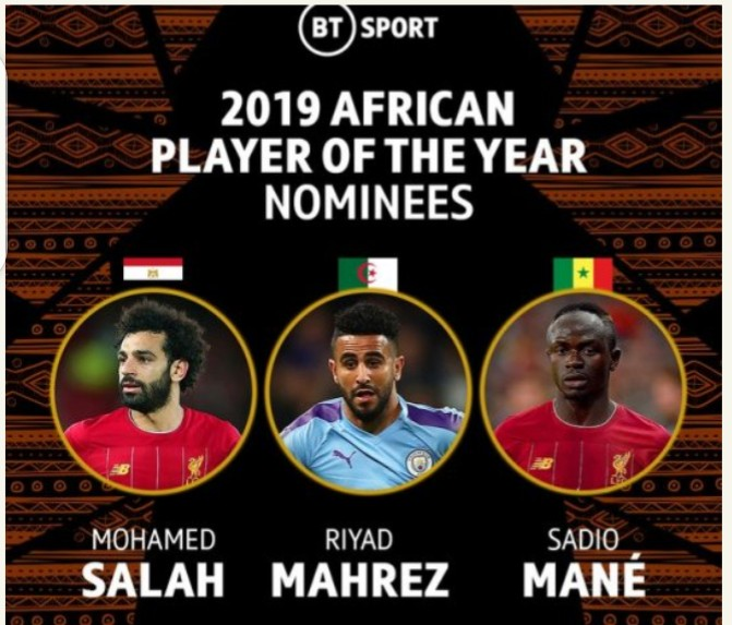 2019 CAF Awards Holds Tonight, See Nominees