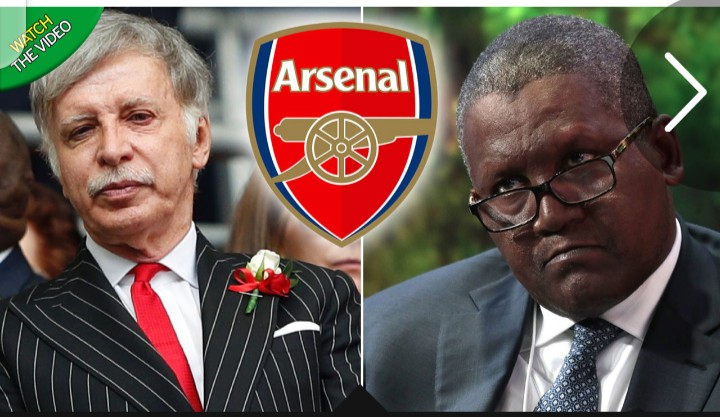 Africa's richest man Aliko Dangote sets to take Over Arsenal Fc