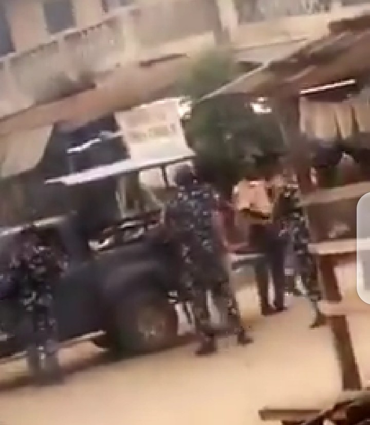 IGP Orders the arrest of the two Police officers who assaulted a lady (video)