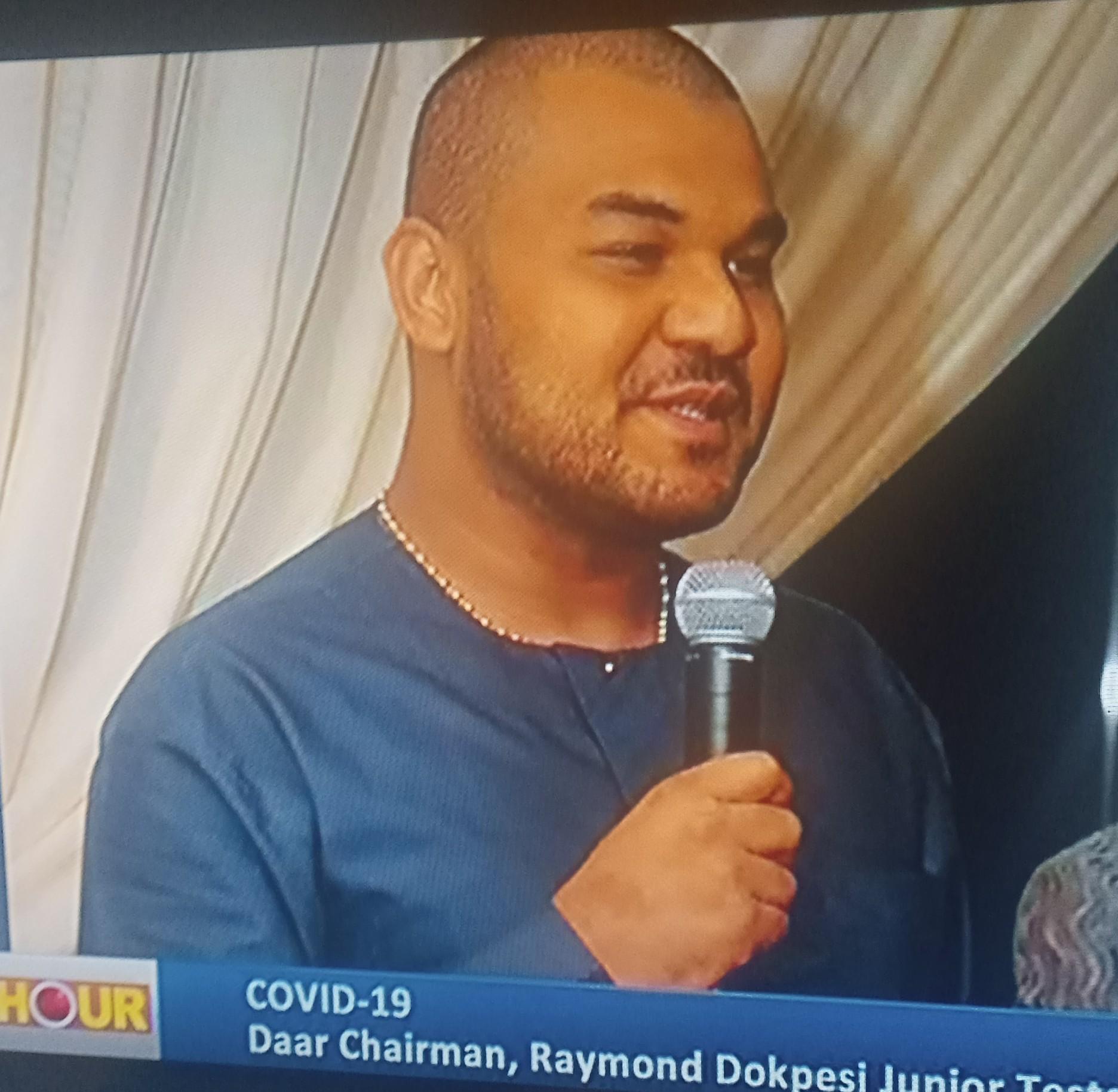 Raymond Dokpesi Jnr. of DAAR Communications tests positive for COVID-19 as Atiku-Abubakar's Son Recovers