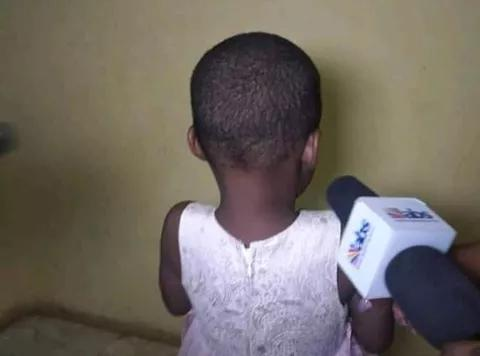 3 year old child raped by her father in Anambra state