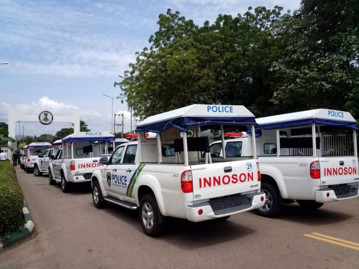 Innoson motors now used by Nigeria Army, Police, others (image)