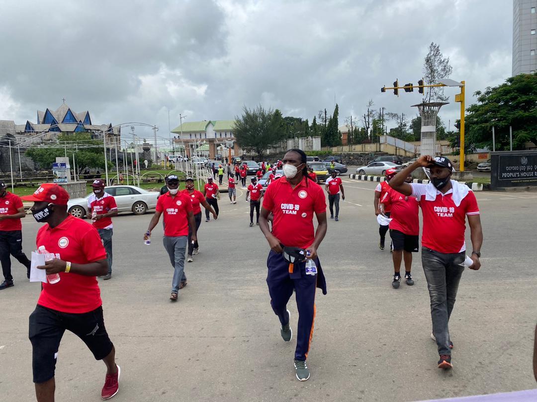 Kanu Nwankwo COVID-19 awareness