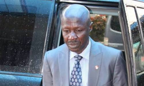 Police Seize Magu's Bulletproof Vehicles, Seal Office