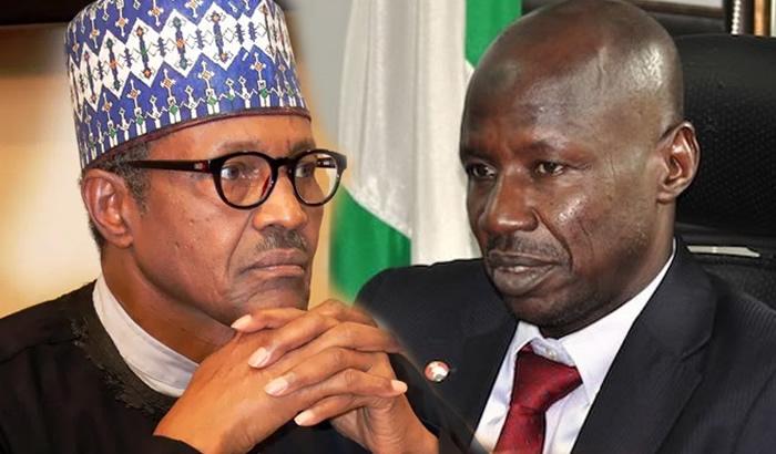 Buhari suspends Magu as EFCC boss