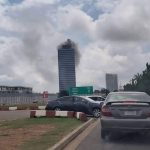 BREAKING: Fire guts World Trade Centre, Abuja (video)