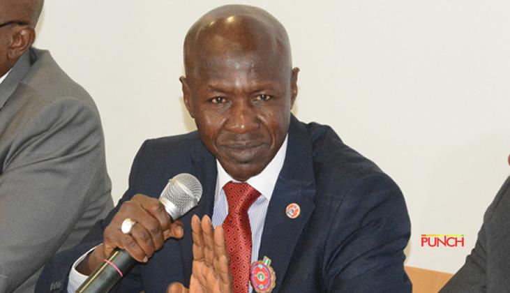 BREAKING: DSS Arrests EFCC Acting Chairman, Ibrahim Magu