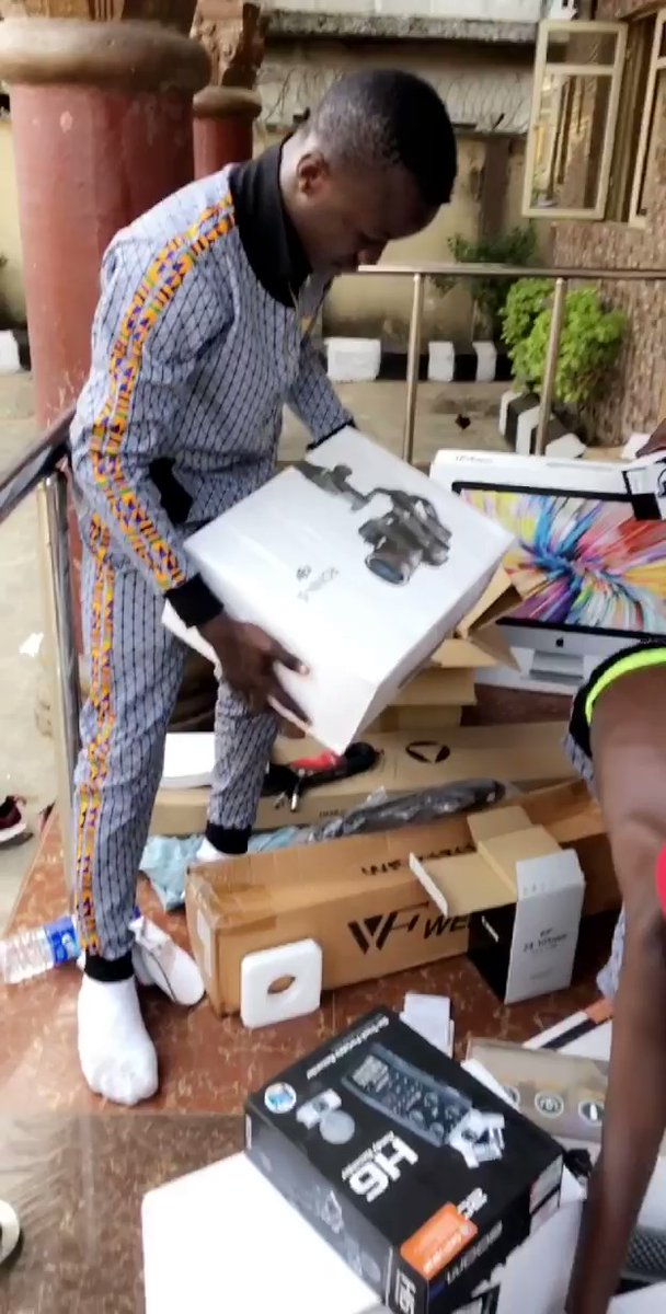 Netflix sends video production equipments to Ikorodu bois (video)