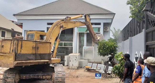House Of Architect Who Demolished Enugu Airport Fence Destroyed By Government