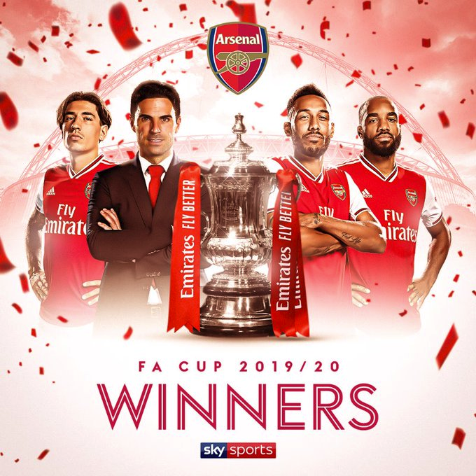 Arsenal beat Chelsea to lift FA cup
