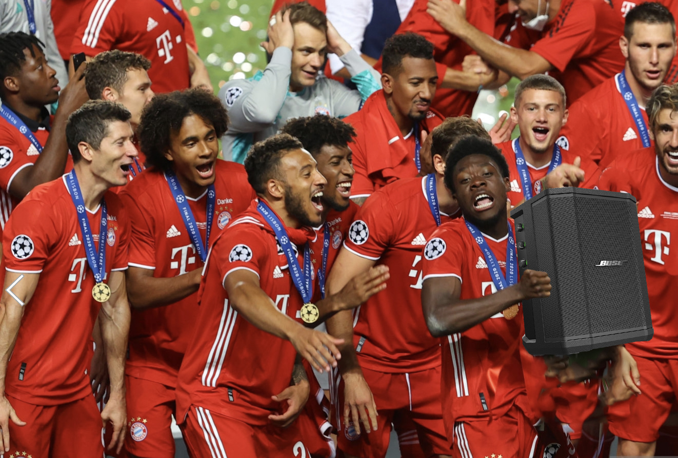 Bayern Win PSG to Clinch Champions League