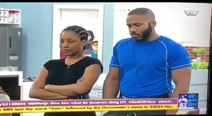 #BBNaija2020 : Kiddwaya and Erica get another strike (video)