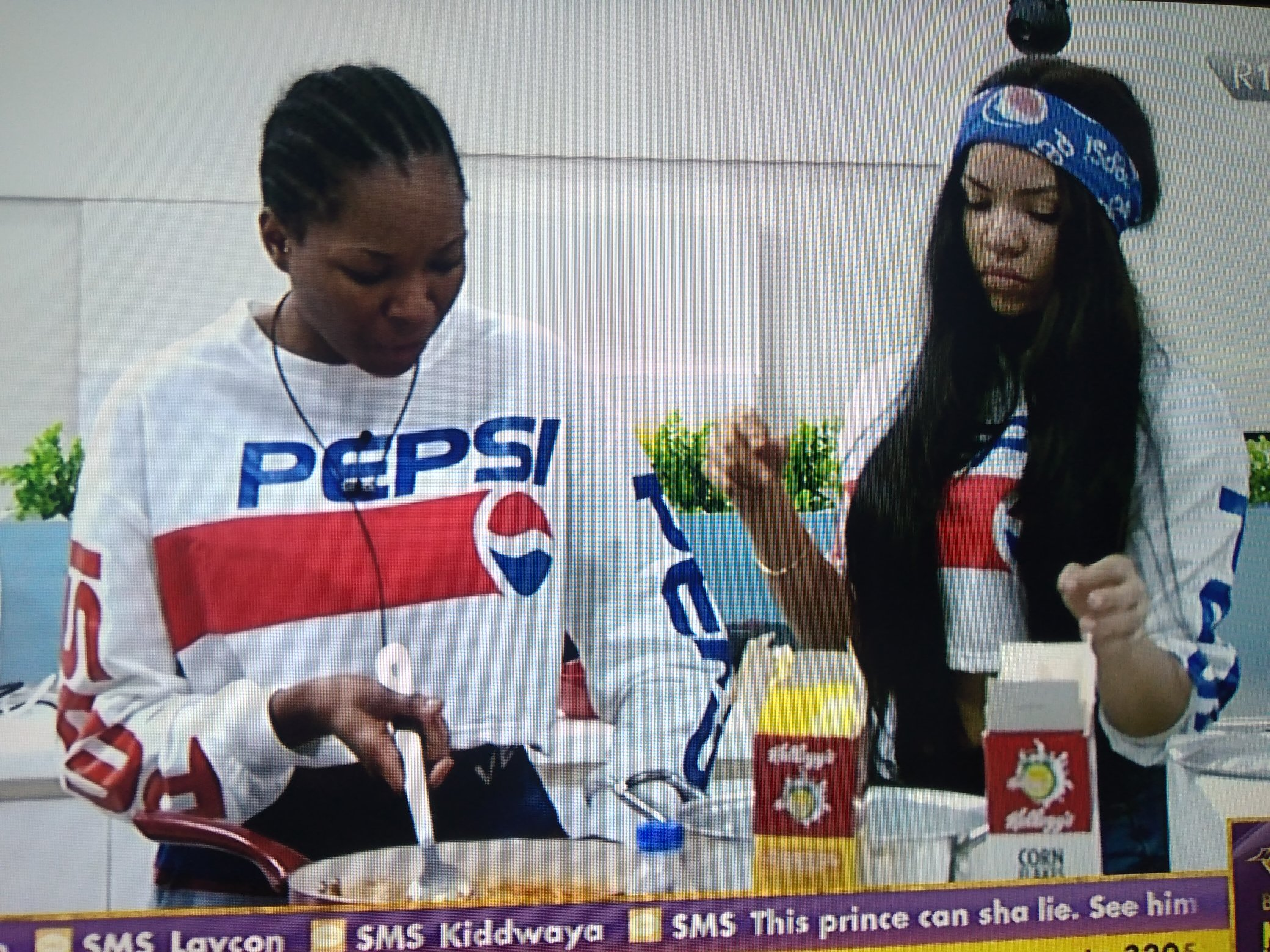 #BBNaija2020 : Nengi and Vee fight in Biggie's house (video)
