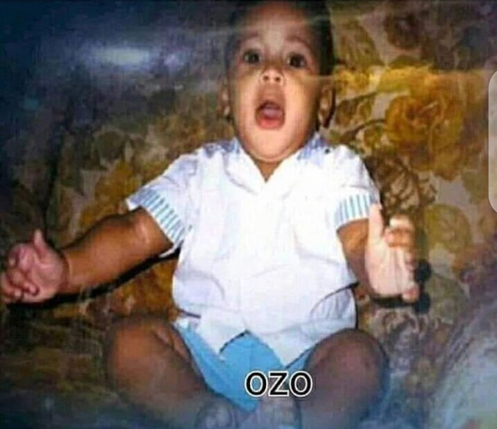 Ozo as a baby