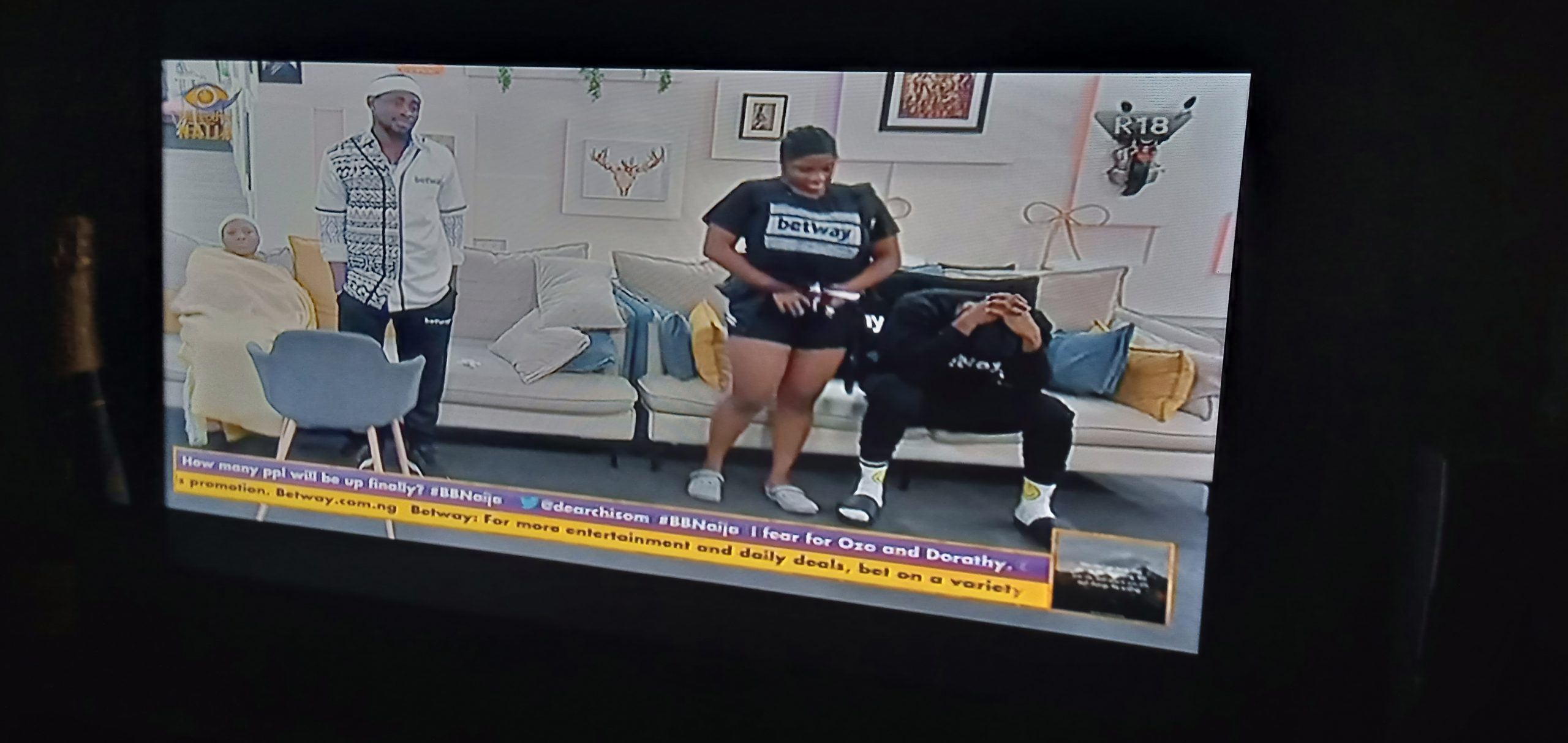 #BBNaija2020 : Housemates up for possible eviction on Sunday by housemates