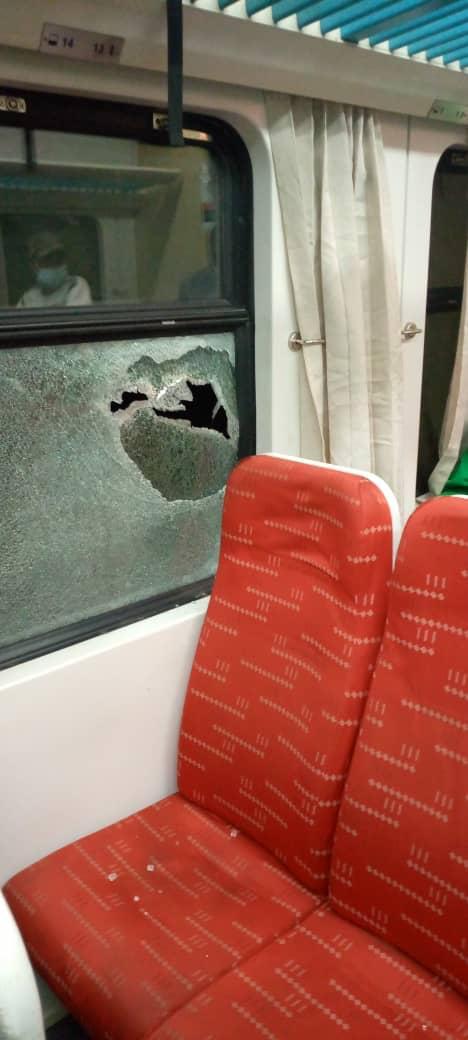 Gunmen attack Abuja-Kaduna Train (pictures)