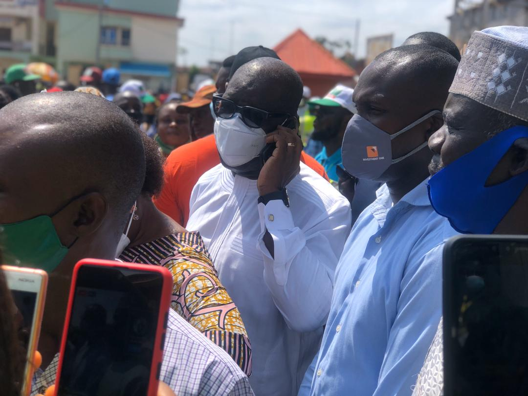 #EdoElection : PDP in early lead as Wike shades opposition (video)