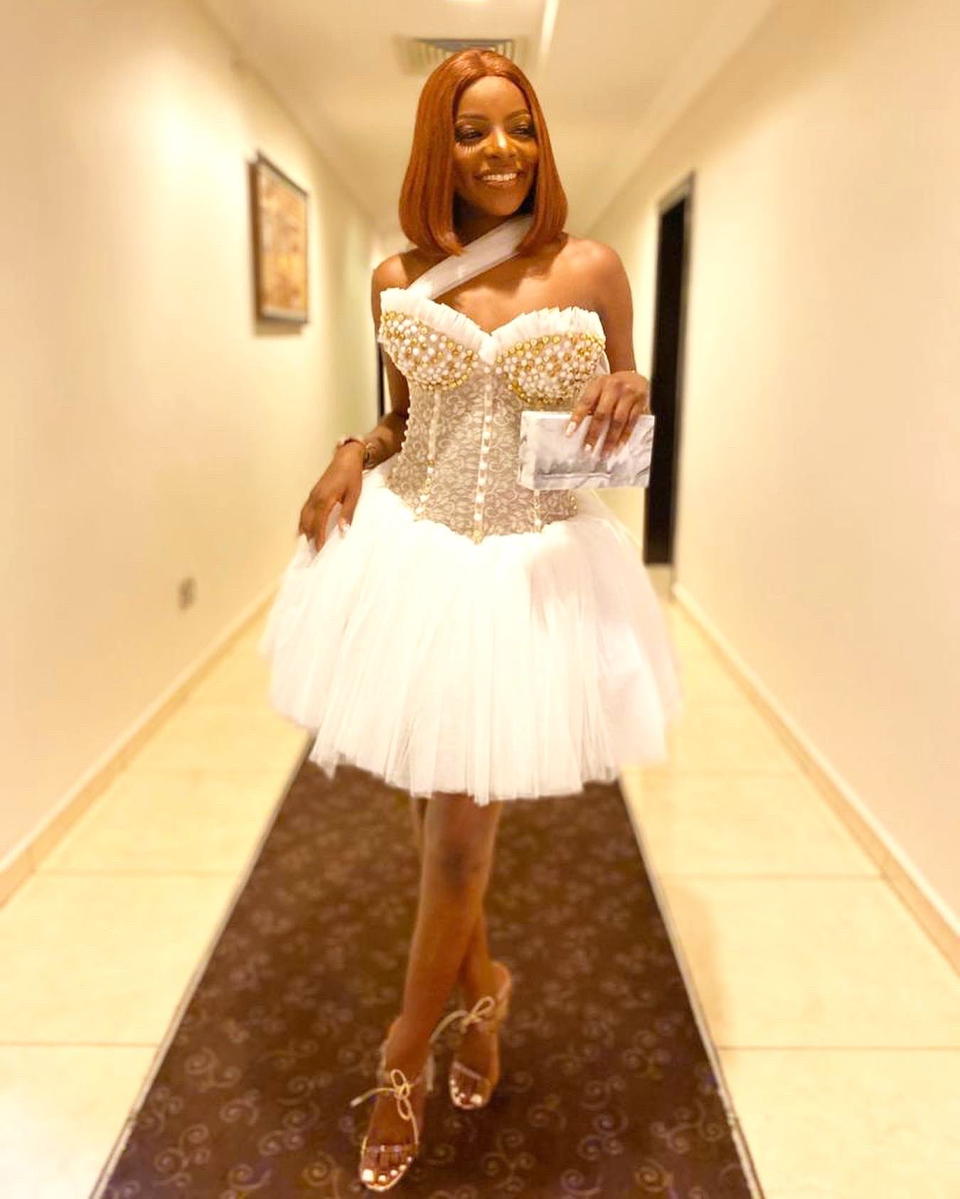 #BBNaija2020 : Moments from All White last Party (video)