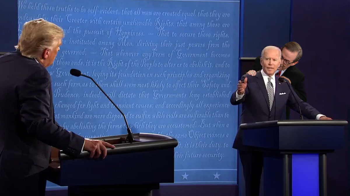 War Of Words As Trump & Biden Square Off In First Presidential Election Debate (video)