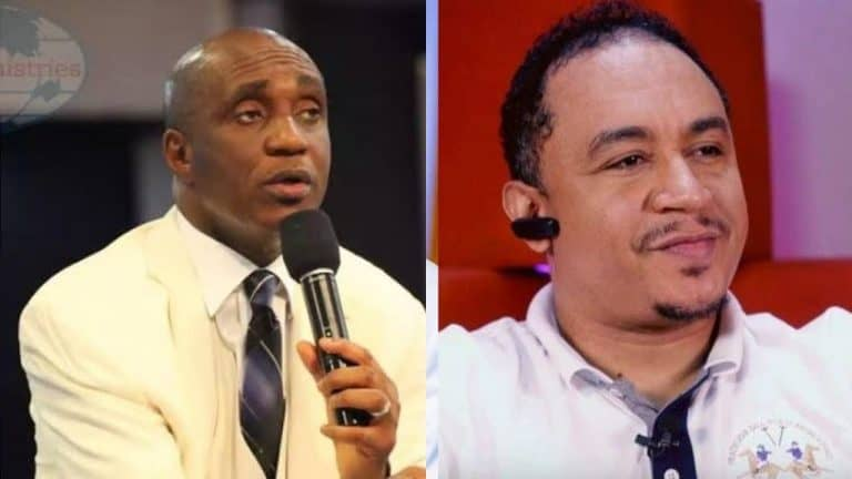 Pastor Ibiyeomie Cusses Daddy Freeze for His critique on Oyedepo (video)