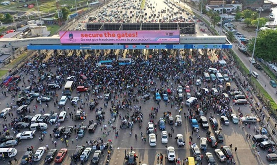 #EndSARS: Nigeria Military Offers to Deploy Officers as Lagos Plans to Ease Curfew Friday