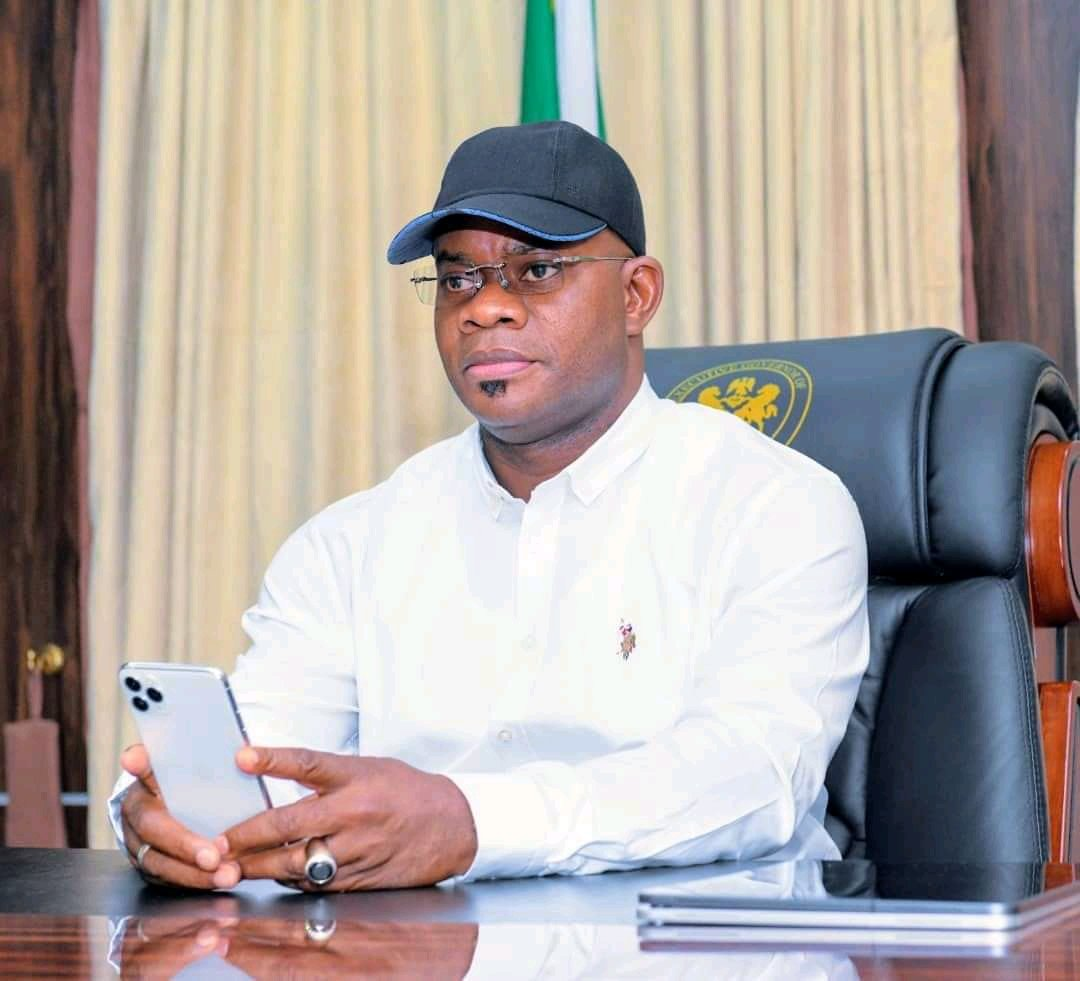 #ENDSARS : Gov. Yahaya Bello of Kogi state offers to lead EndSARS Protesters (video)
