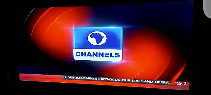 Channels Tv temporarily shutdown (video)