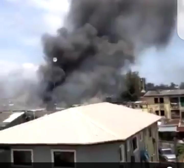 Breaking : Ikoyi Prison under Attack (video)